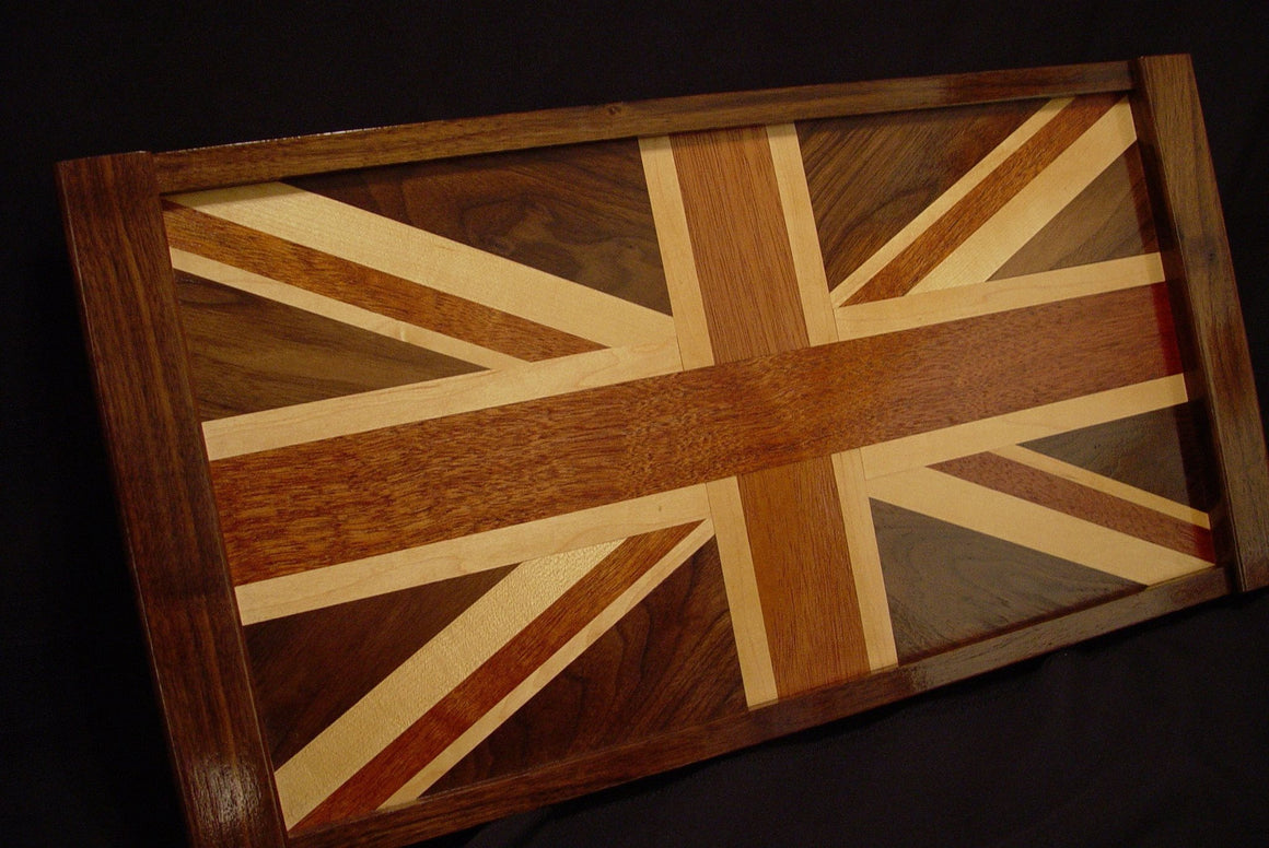 British Flag Serving Tray - Chopping Blox - 1