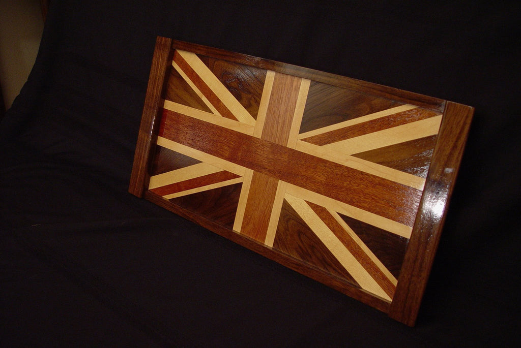 British Flag Serving Tray - Chopping Blox - 2