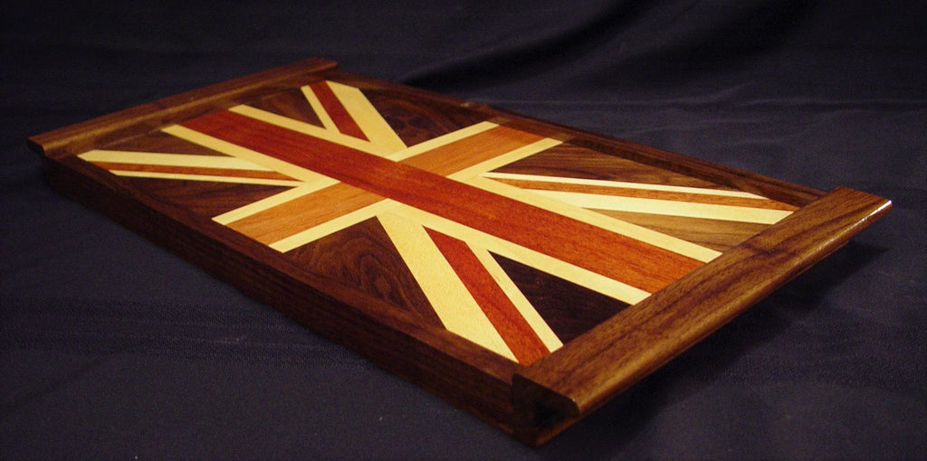 British Flag Serving Tray - Chopping Blox - 3