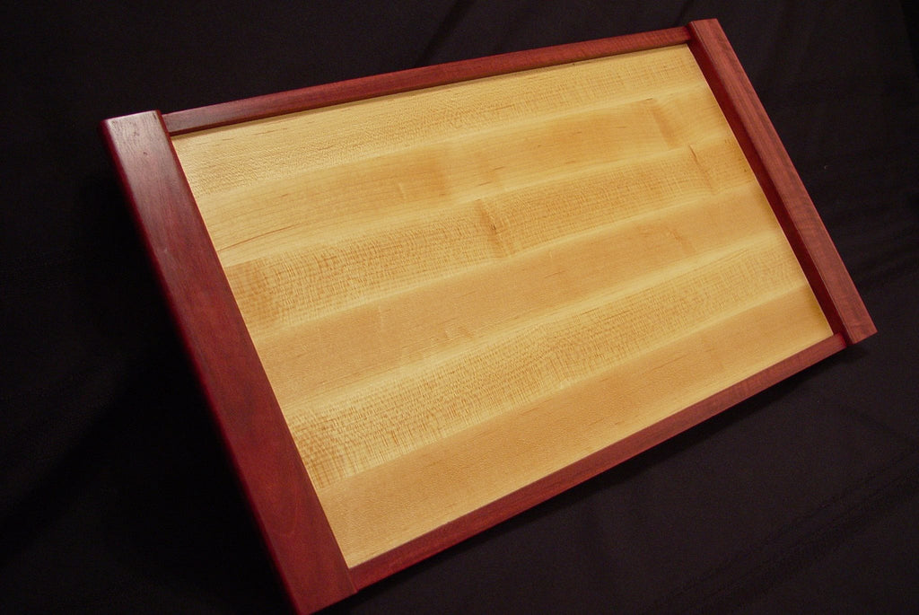 Maple / Purpleheart Serving Tray - Chopping Blox - 2