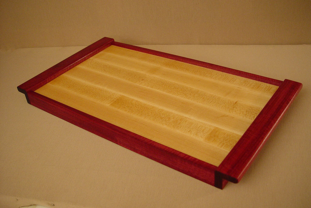 Maple / Purpleheart Serving Tray - Chopping Blox - 3