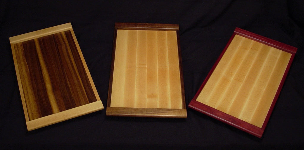 Maple / Purpleheart Serving Tray - Chopping Blox - 4