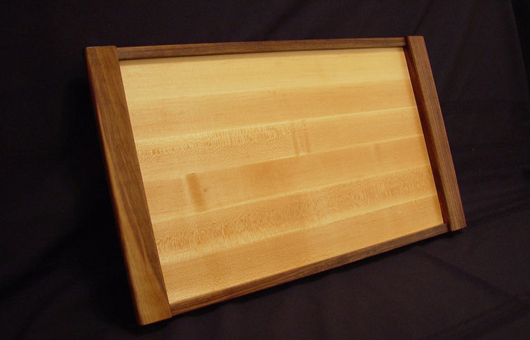 Maple / Walnut Serving Tray - Chopping Blox - 1