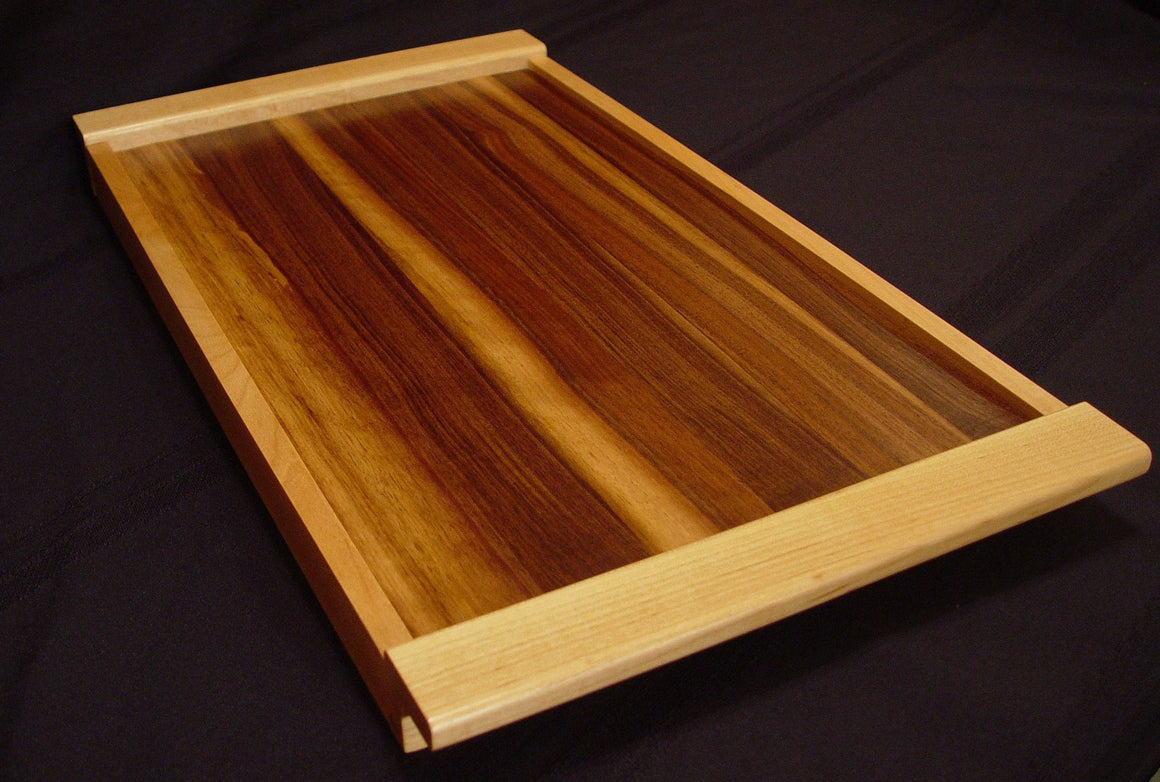 Walnut / Maple Serving Tray - Chopping Blox - 1