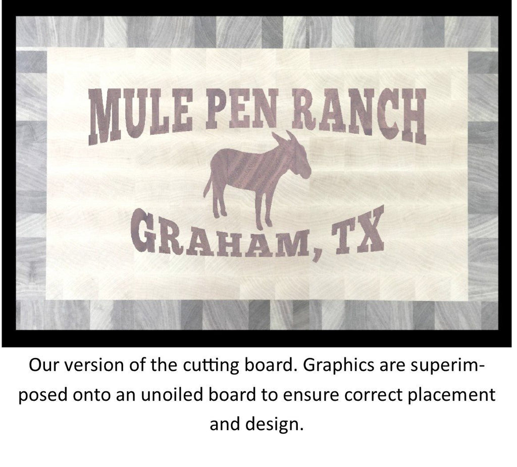Cattle and Ranch Brand Board 2 - Chopping Blox - 4