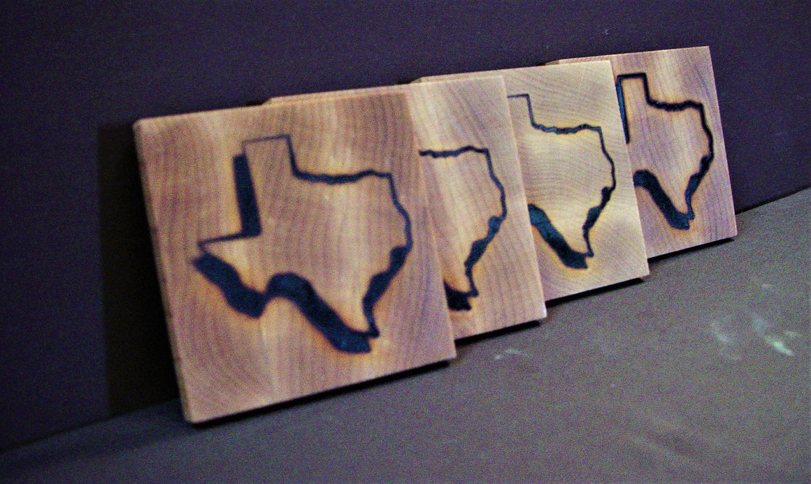 Texas State Coasters - Chopping Blox - 1