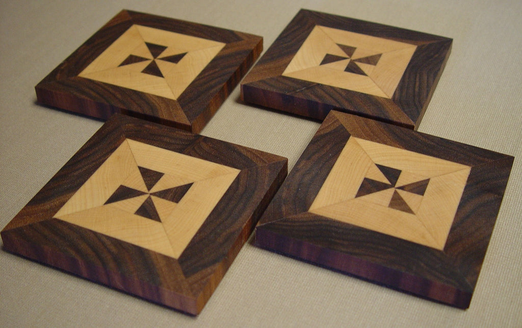Coasters - Pinwheel Border - Chopping Blox - 1