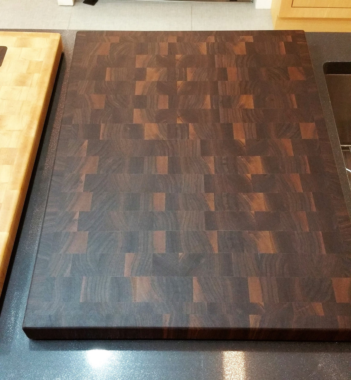 Black Walnut Steamer Cover