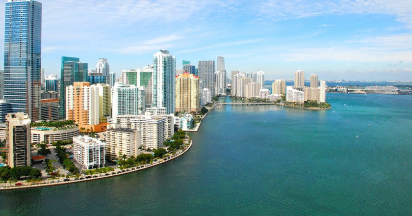Top 5 Places to Ride Uber Scuuter in Miami