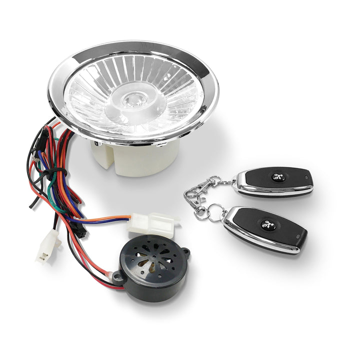 Uber Scuuter LED Head Light Alarm Combination - Uber Scuuter