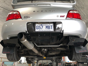 Aluminum Rear Diffuser - 3 Pcs (Universal) - Artwork Bodyshop