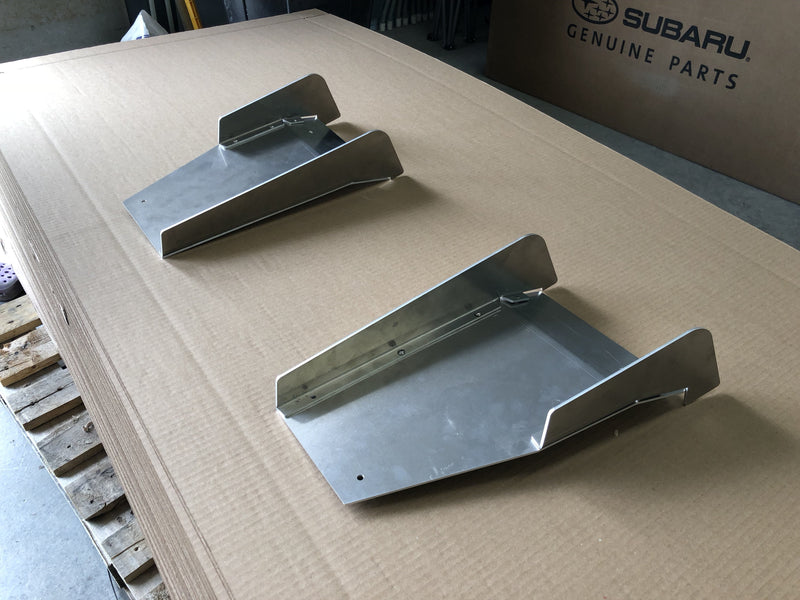 Aluminum Rear Diffuser - Center Only (Universal) - Artwork Bodyshop
