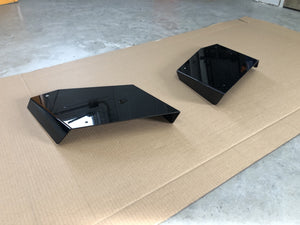Aluminum Rear Diffuser - Sides Only (Universal) - Artwork Bodyshop