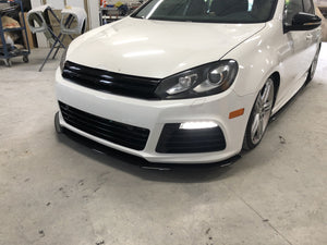 Front Splitter - VW Golf R 09-13 MK6 - Artwork Bodyshop