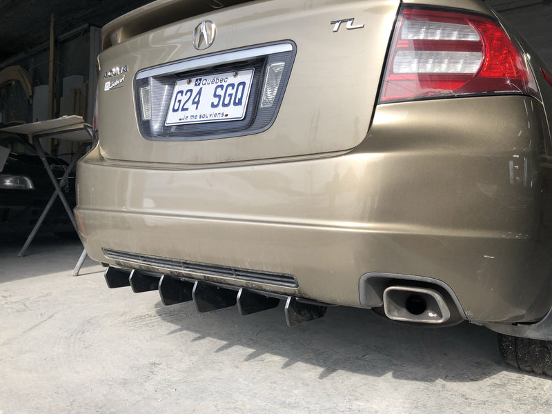 Rear Diffuser OEM style - 28'' (Universal) - Artwork Bodyshop
