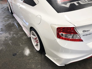 Rear Spats - Honda Civic SI 12-15 - Artwork Bodyshop