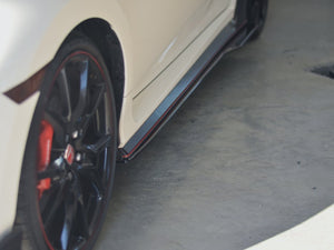 Side Splitters - Honda Civic Type-R 17-20 - Artwork Bodyshop