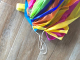 'Pastel Rainbow' Fringe Garland/Backdrop