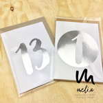 Children Birthday Cards - Silver Foil