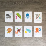 Alphabet Flash Cards - Animal Edition