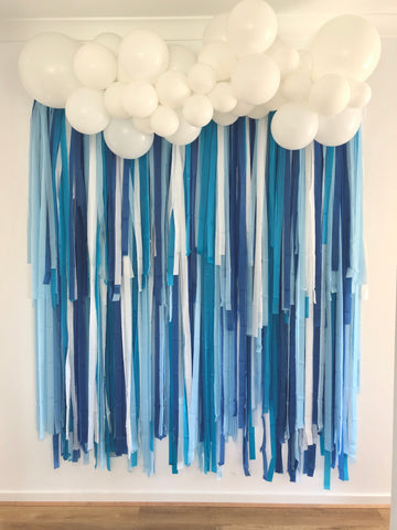 'Ocean' Fringe Garland/Backdrop