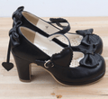 Lolita Pumps Patent Leather High Heels