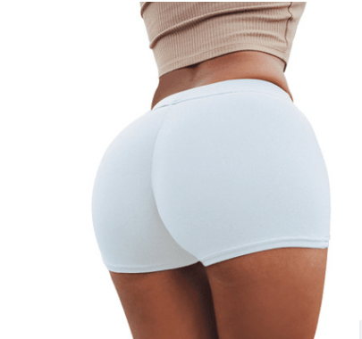 High Waist Stretch Fitness Yoga Gym Shorts