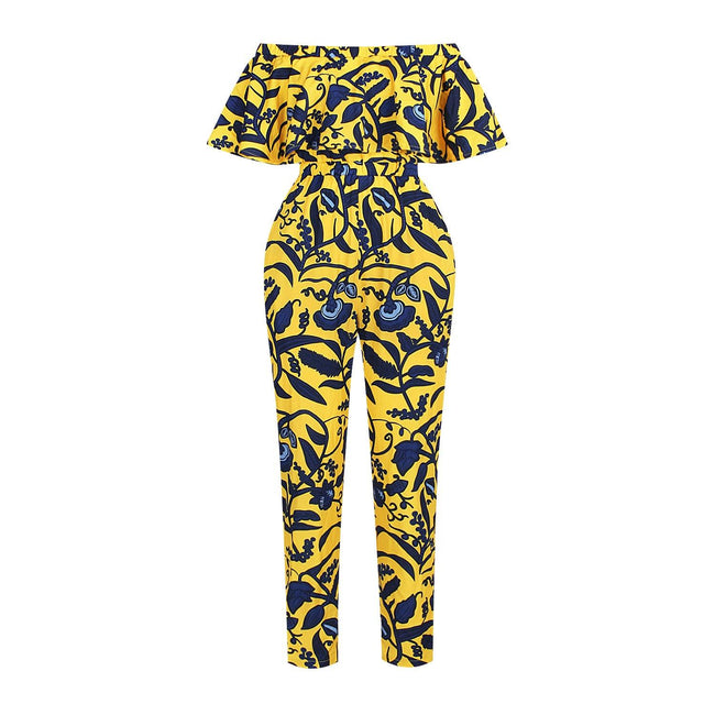 Digital print jumpsuit