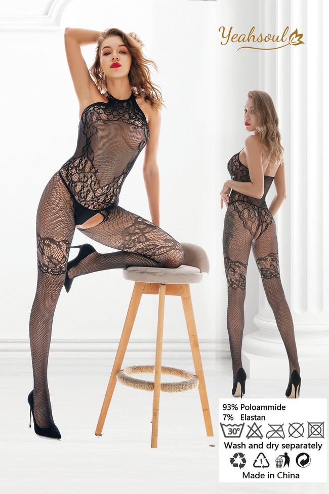 Sexy Lingerie Fishnet Bodystockings