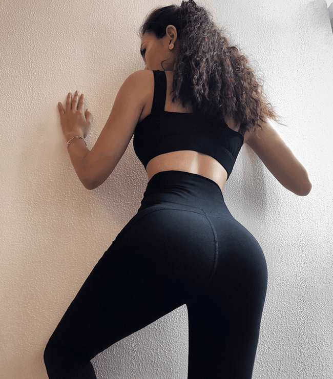 Tight hip yoga leggings