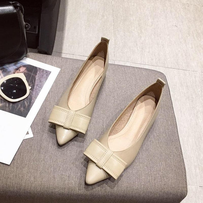 Spring new pointed pointed pumps