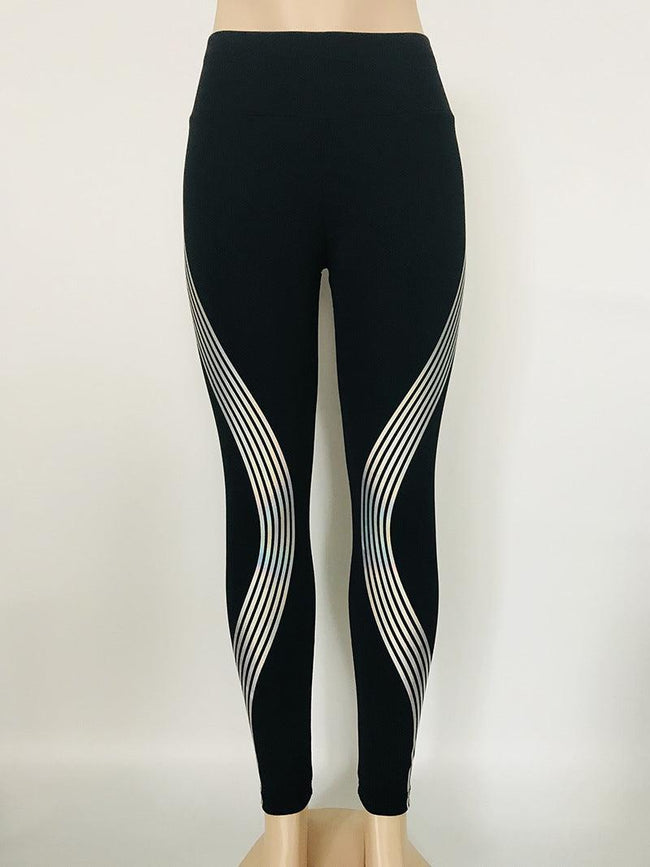 Reflective Leggings Glow in the Dark