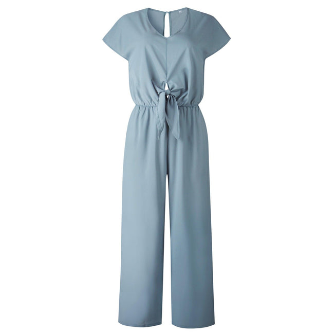 Button female jumpsuit