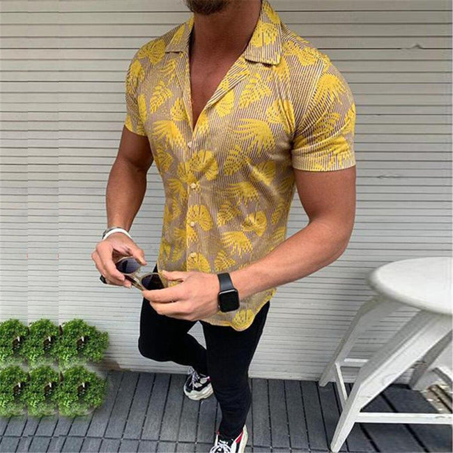 Short Sleeves Printed Shirts