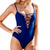 Low-Chest One-piece Swimsuit