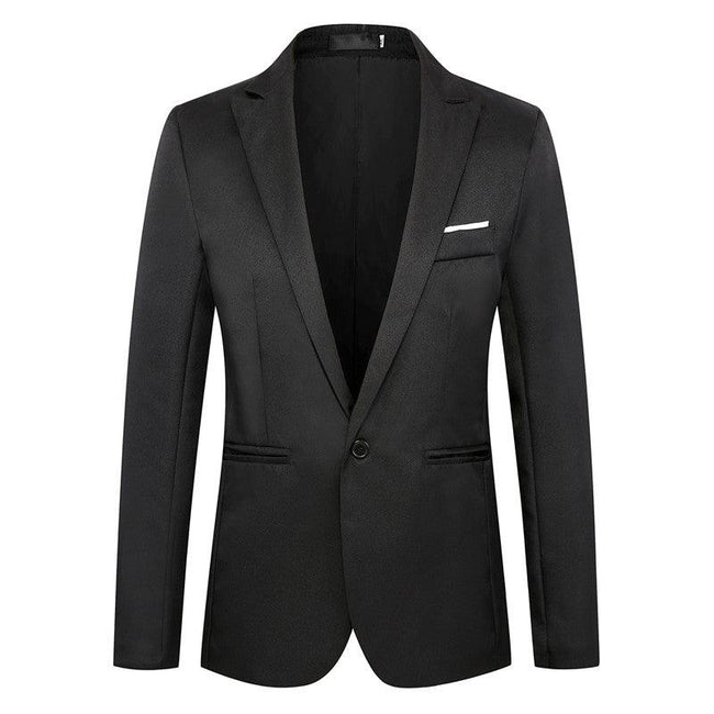 Slim casual one button Blazer