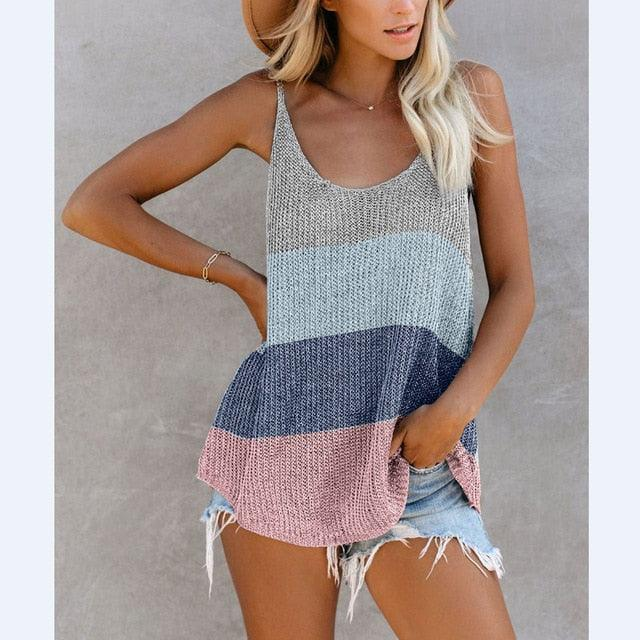 Striped Pareo Cover Ups