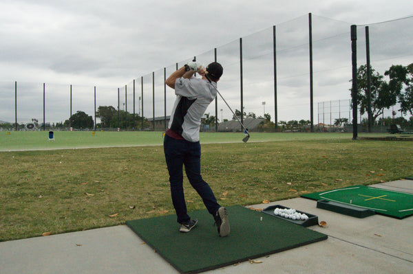 golf champs de pratique driving range netting