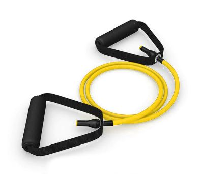 Tube resistance exercise ropes