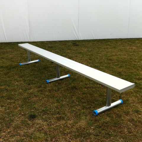 Aluminum players bench