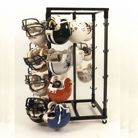 Football Helmet Rack