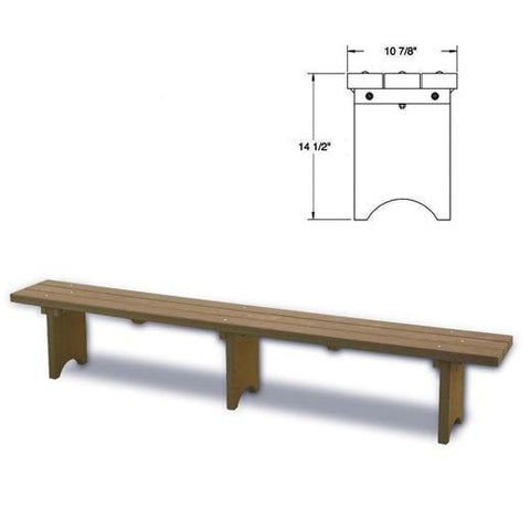 Plastic Players Bench
