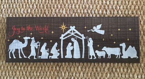 Joy To The World Nativity