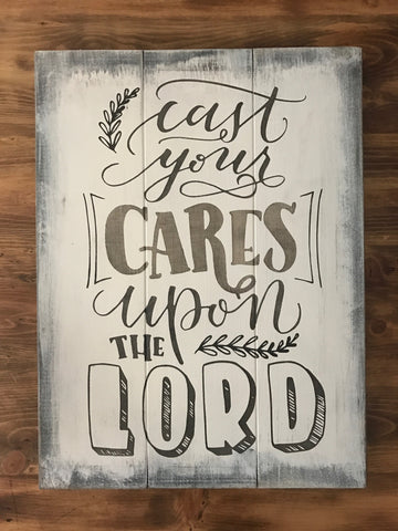 Cast Your Cares Upon The Lord