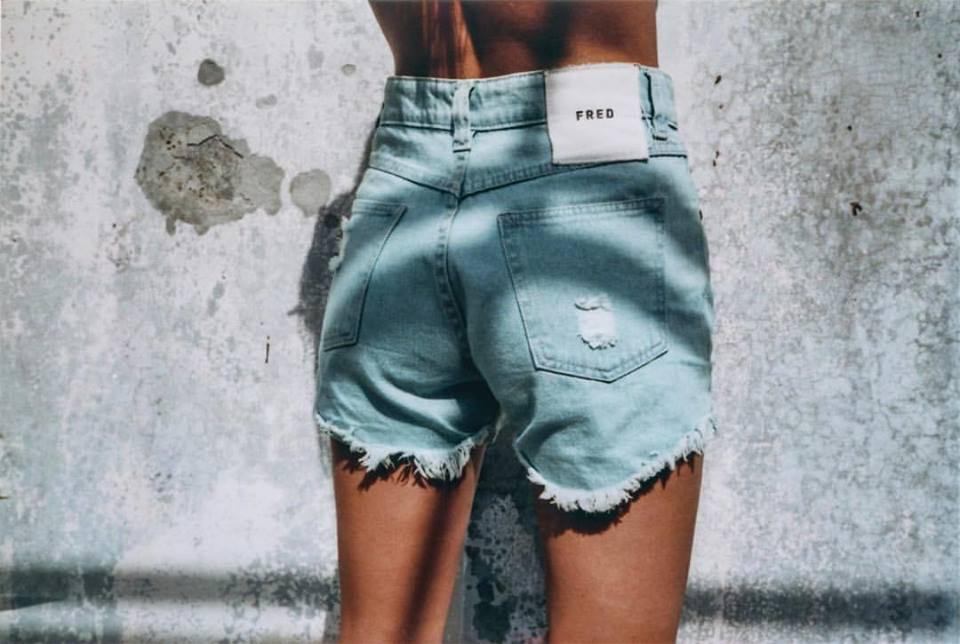 "Denim Shorts ""The Fred Roll Up"""