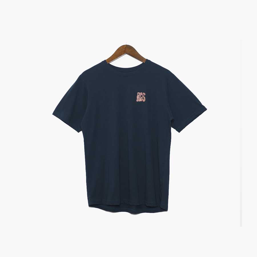 BGS Air Machine Tee Blue Night