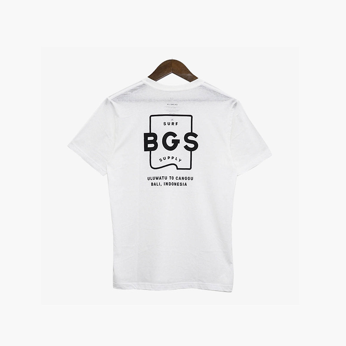 BGS Wave Official Tee White