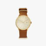 CHPO Watch Harold Gold Brown Strap bali indonesia