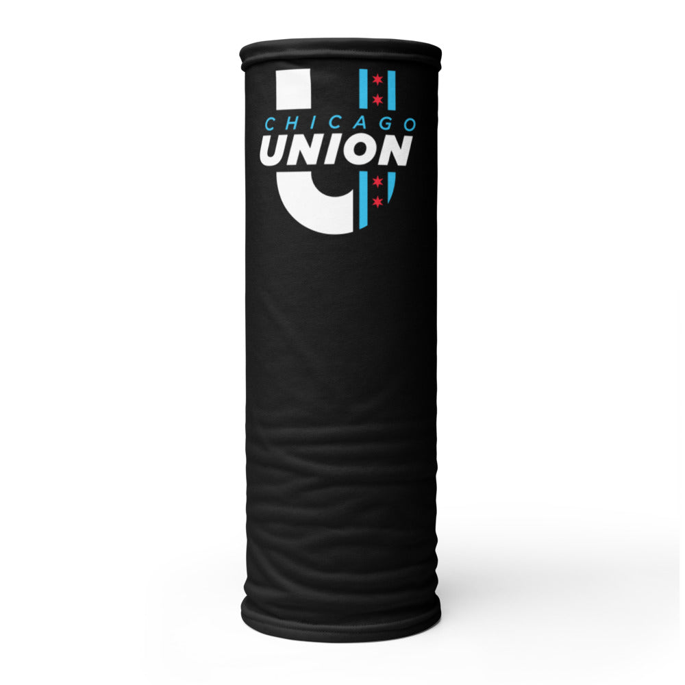 Dark Mode Chicago Union Neck Gaiter