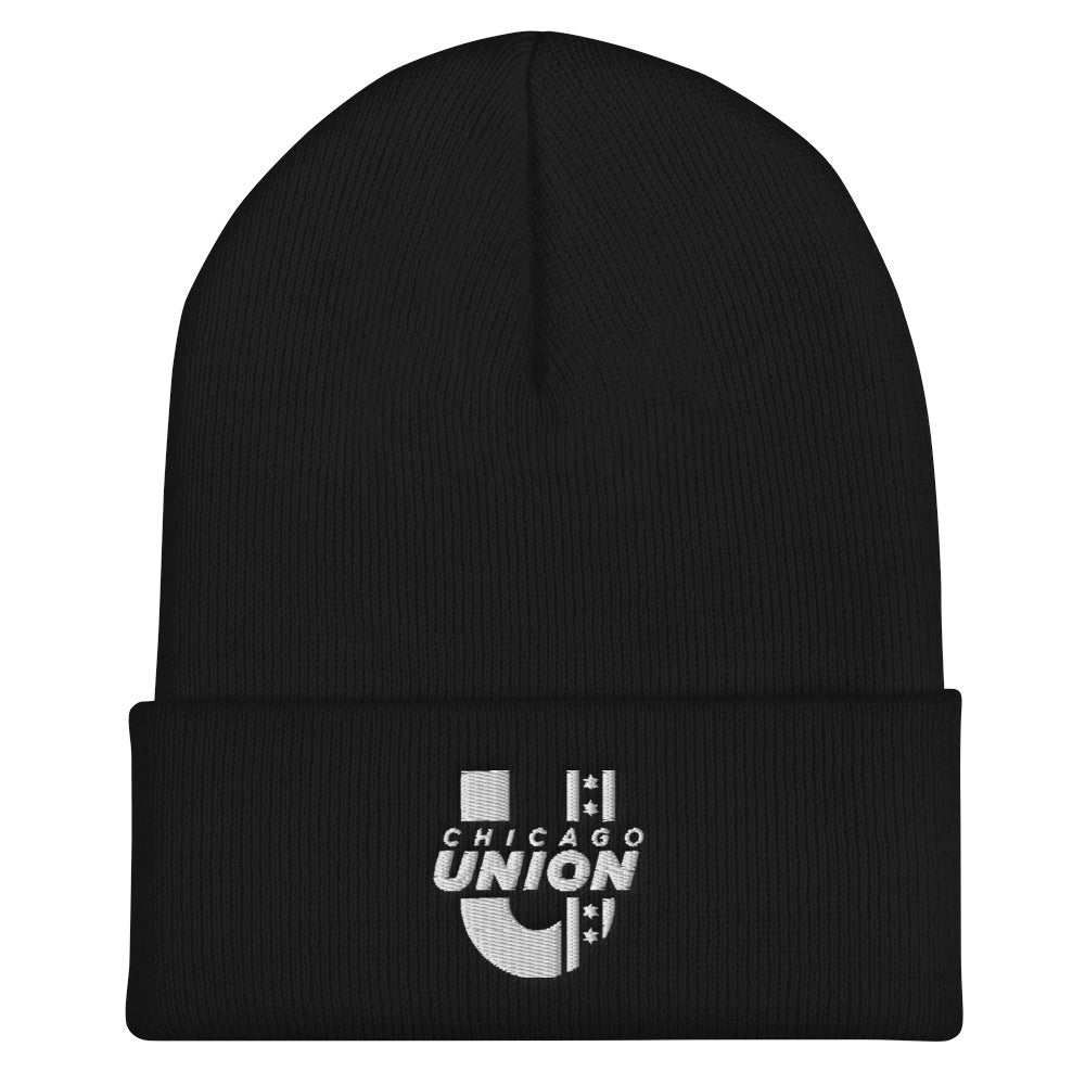 Chicago Union Beanie - Black